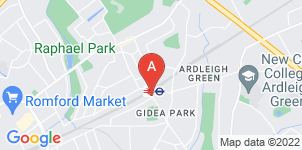 Google static map for T.A Newman Funeral Directors