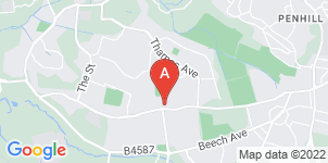 Google static map for Hillier Funeral Service Moredon