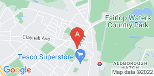 Google static map for The Co-operative Funeralcare, Ilford High St