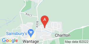 Google static map for R & H Barker Funeral Directors, Wantage