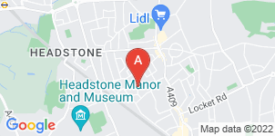 Google static map for Muslim Funeral Directors