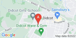 Google static map for M & J Didcock Funeral Service