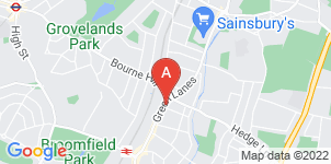 Google static map for A Seaward & Sons Funeral Directors