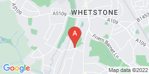 Google static map for M M Broad & Son Funeral Directors