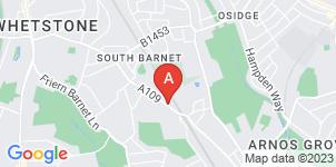 Google static map for Oakleigh Funerals Ltd