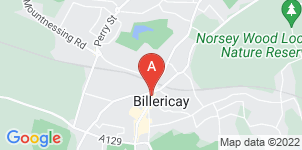 Google static map for F. E. Farrer Funeral Directors