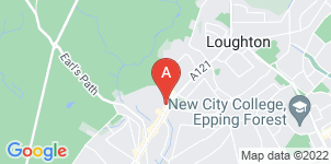 Google static map for Markfield Funeral Directors