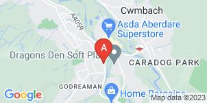 Google static map for Alun & Margaret Evans