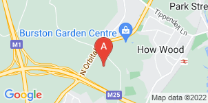 Google static map for M.K Ginder & Sons