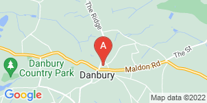 Google static map for Bakers Funeral Service