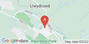 Google static map for Richards Funeral Services
