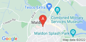 Google static map for A G Smith, Maldon