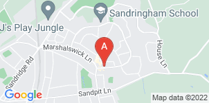 Google static map for Phillips Funeral Directors, Marshalwick