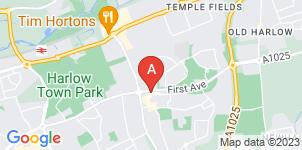 Google static map for Albert English Funeral Directors