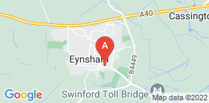 Google static map for Greens Funeral Services, Eynsham
