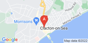 Google static map for The Co-operative Funeralcare, Clacton-on-Sea