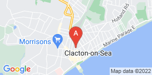 Google static map for P G Oxley Ltd, Clacton-on-Sea