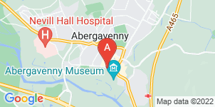 Google static map for Abergavenny Funeralcare