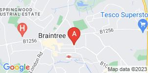 Google static map for Paul J King Funeral Directors, Braintree