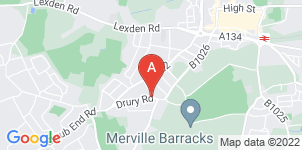 Google static map for Abbey Funeral Service, Colchester