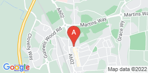 Google static map for Austins Funeral Service, Stevenage