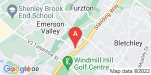 Google static map for Milton Keynes Family Funeral Services