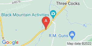Google static map for C.C James Funeral Directors