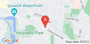 Google static map for Michael Smy Funeral Service, Felixstowe Rd