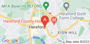 Google static map for S A Evans Funeral Directors