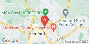 Google static map for Abbotsfield Funeral Directors, Hereford