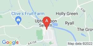 Google static map for Jackson Family Funeral Directors, Upton-upon-Severn