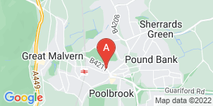 Google static map for Holland Funeral Directors