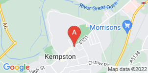 Google static map for A L & G Abbott Funeral Directors