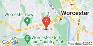 Google static map for A V Band Funeral Directors, St Johns