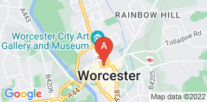 Google static map for A V Band Funeral Directors