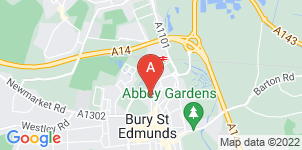 Google static map for Armstrongs Funeral Service