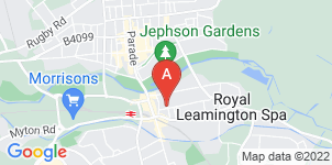 Google static map for H J Dawson Funeral Directors