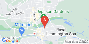 Google static map for Henry Ison & Sons Funeral Directors, Leamington Spa