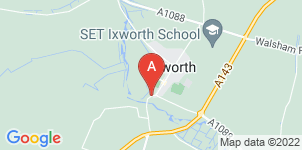 Google static map for A E Thurlow & Son Funeral Directors