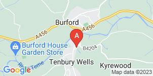 Google static map for A.H Caldicott & Sons Funerals Directors