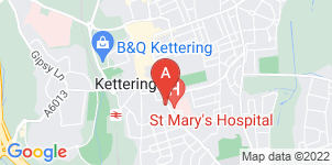 Google static map for The Co-operative Funeralcare Kettering
