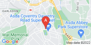 Google static map for Henry Ison & Sons Funeral Directors, Daventry Road