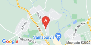 Google static map for Attwood Funerals