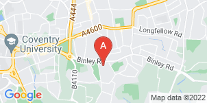 Google static map for Henry Ison & Sons Funeral Directors, Binley Road