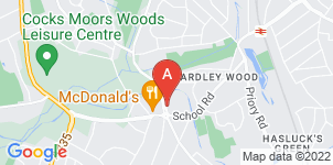Google static map for The Co-operative Funeralcare Yardley Wood