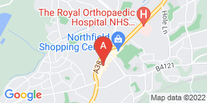 Google static map for The Co-operative Funeralcare, Northfield