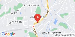 Google static map for Mortons Funeral Directors