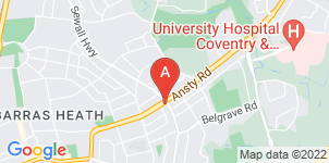 Google static map for The Co-operative Funeralcare Ansty Road