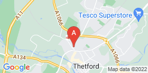 Google static map for Andrew Francis Funeral Service, Thetford