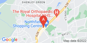 Google static map for Mortons Funeral Directors, Northfield (Head Office)